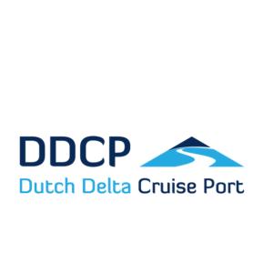 Het logo van Dutch Delta Cruise Port