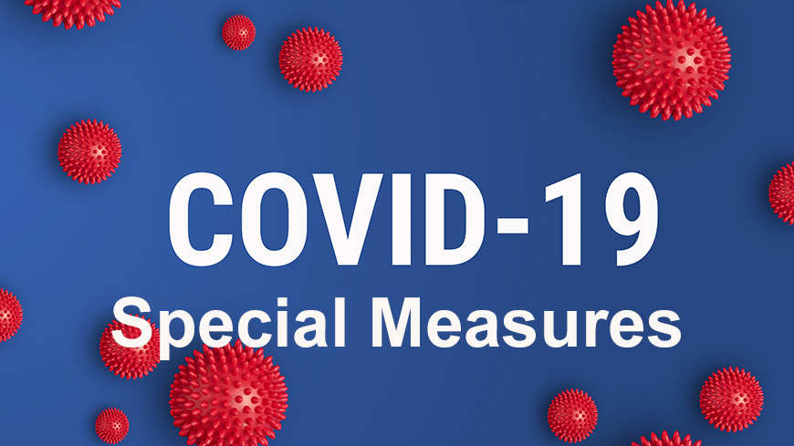 Overview COVID-19 measurements